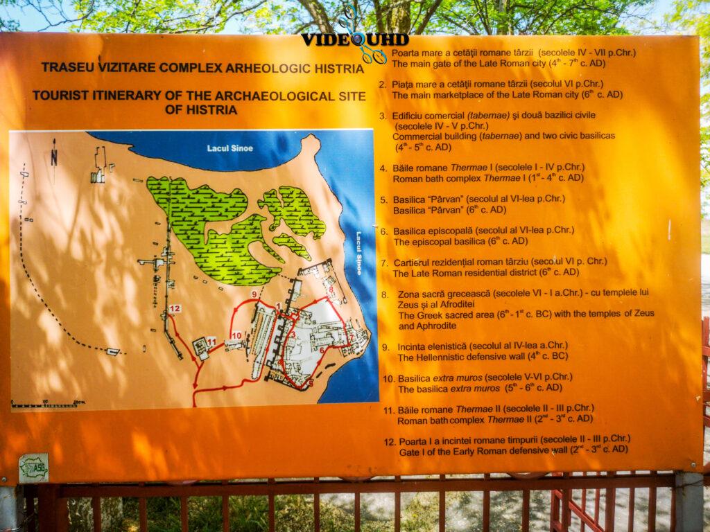 Traseul Complexului Arheologic Histria
