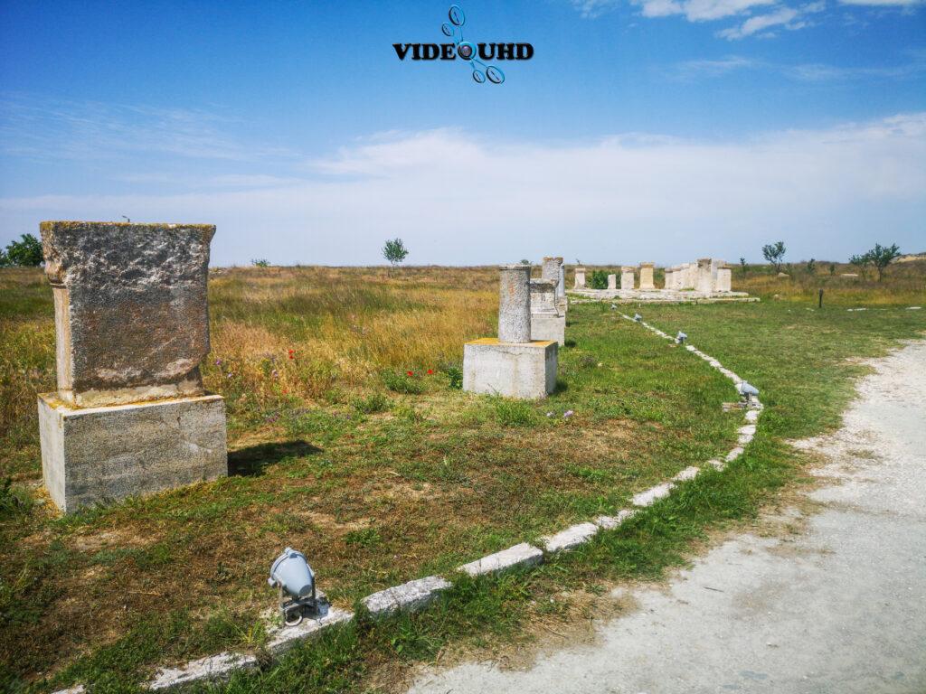 Ruinele cetății